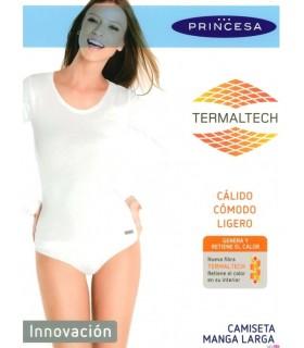 Camiseta Thermaltech Manga Larga Mujer, Mod 4716 Princesa
