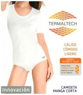 Camiseta Thermaltech Manga Corta Mujer, Mod 4711 Princesa