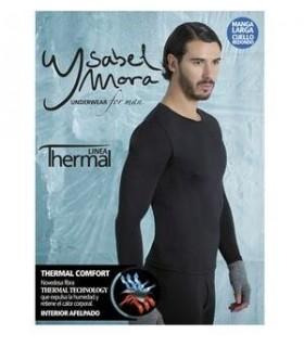 Camiseta interior termal manga larga hombre, Mod. 70102, Isabel Mora