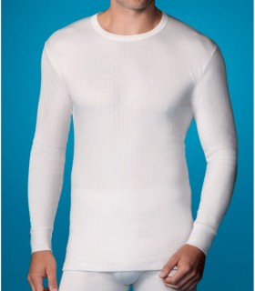 Camiseta Interior manga larga hombre, 208 abanderado