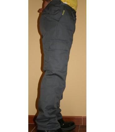 Pantalón de Trabajo, con Elástico Multibolsillos NAVETEX