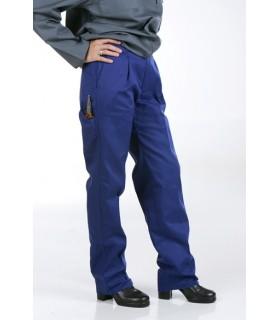 Pantalón Clásico de Trabajo, con Elástico, NAVETEX