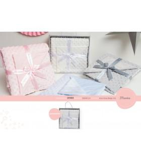 Manta bebé Mod. 21353, Bh Textil