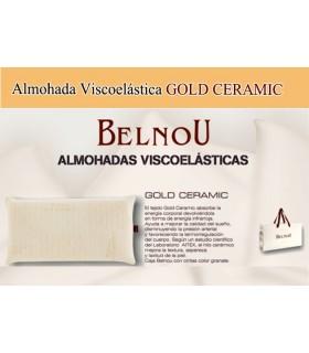 Almohada Viscoelástica Gold Ceramic, Belnou